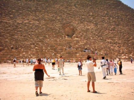 Angekommen - Pyramiden von Gizeh