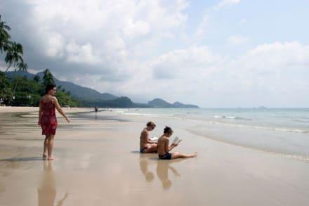 White Sand Beach in der Hochsaison - Strand White Sand Beach