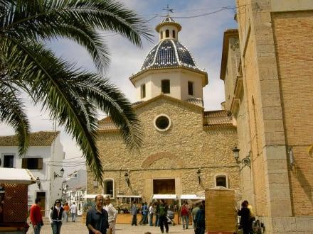 oben in der Altstadt von Altea - Nuestra Señora del Consuelo