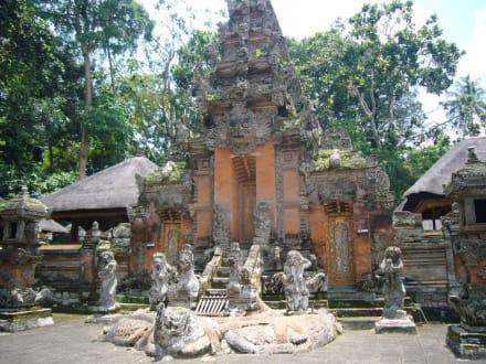 Monkey Forest - Tempel - Affenwald Ubud