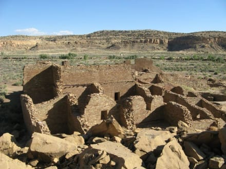 Chetro Ketl-Ruinen im Chaco Canyon - Chaco Culture National Historical Park