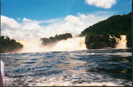 Canaima - Wasserfälle von Canaima - Salto Sapo
