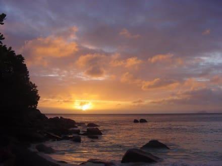 Sonnenuntergang - Strand Beau Vallon Bay