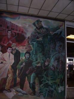 Fidel Gemälde - Altstadt Havanna