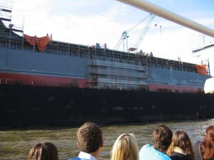Schiffsverlängerung - Hafenrundfahrt Hamburg