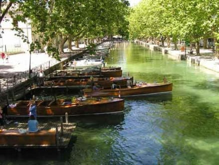 Annecy - Canale Grande - Altstadt Annecy