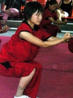 Kung Fu - Mädchen - Shaolin Kloster