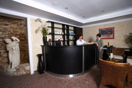 Spa reception -