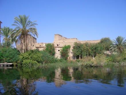 Fahrt um die Insel - Philae Tempel