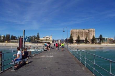 Die Glenelg Jetty - Strand Glenelg