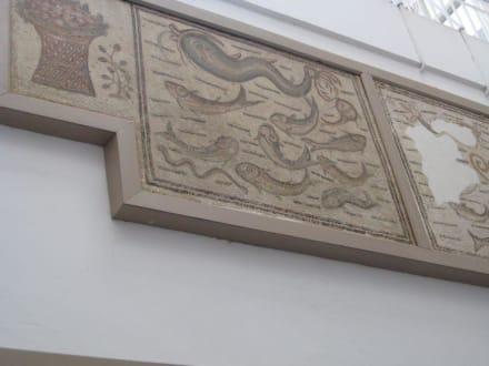Auswahl an der Wand - Nationalmuseum von Bardo