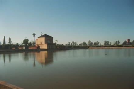 Wasserreservoir Olivengärten - Wasserreservoir
