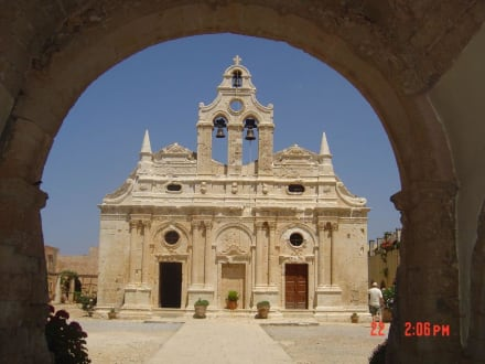 Klosterkirche vom Kloster Arkadi - Kloster Moni Arkadi