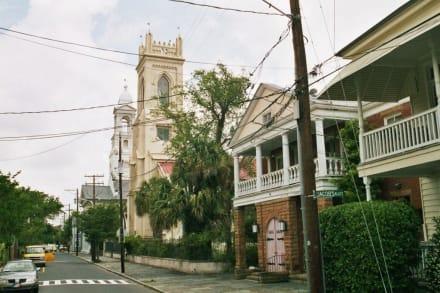 Im Zentrum von Charleston - Altstadt Charleston