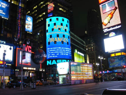 Time Square bei Nacht - Times Square