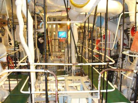Maschinenraum - Kriegsschiff HMS Belfast
