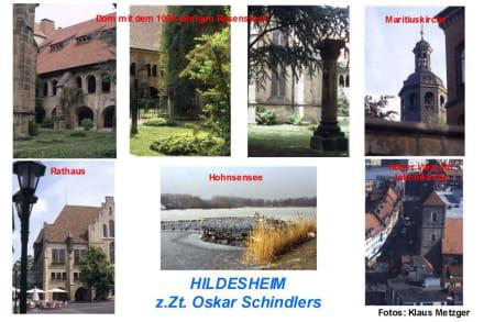 Die historischen Gebäude in HILDESHEIM - Oskar Schindler-Führung