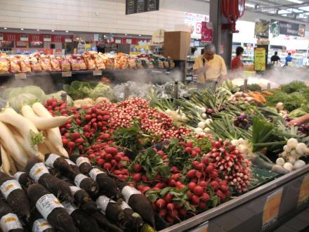 Supermarkt Im Elsass