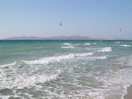 Kite Surfer am TamTam-Strand - Strand Tam Tam