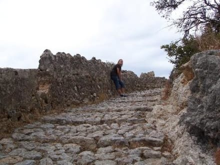 Aufstieg zur Wallfahrtskirche - Puig de Maria