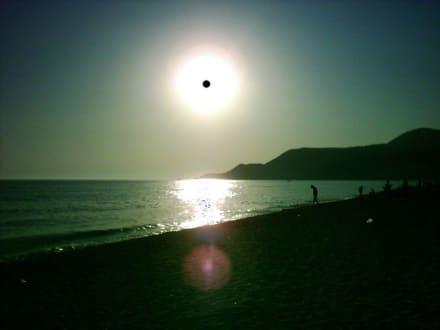 Sonnenuntergang... - Strand Kleopatra/Strand Damlatasch