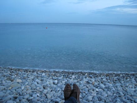 Sauberer Strand - Strand Nizza