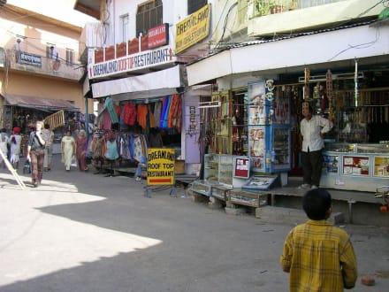Gasse in Pushkar - Pilgerstädte Pushkar