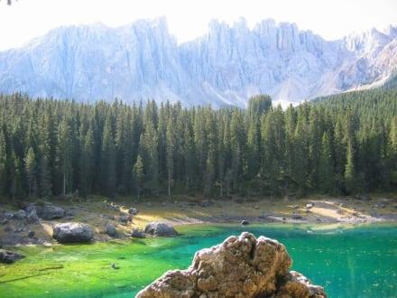 Berge und See - Karersee