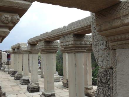 Oben auf dem Baphuon Tempel - Tempel Baphuon