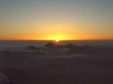 Sonnenaufgang - Mosesberg (Gebel Musa) / Berg Sinai