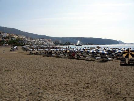 Playa de Las Vistas in Los Cristianos - Strand Los Cristianos