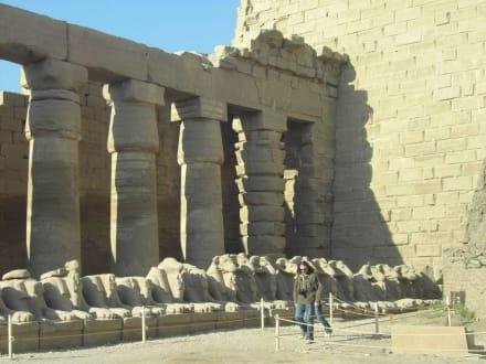 So wurden Säulen hergestellt - Amonstempel Karnak