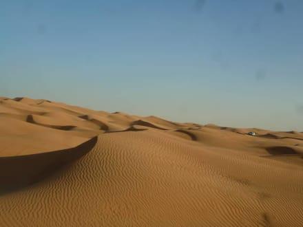 Herrliche Wüstenlandschaft - Wüstentour Dubai