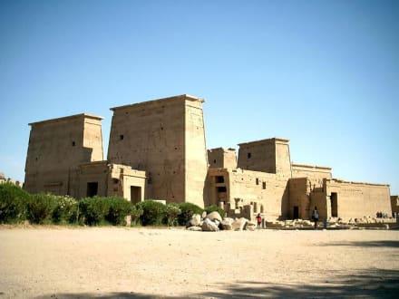 Isistempel Philae - Philae Tempel