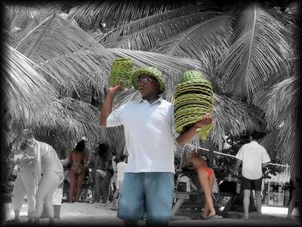 HutverKäufer auf Isla Saona - Isla Saona