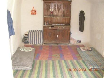 Innenaufnahme einer Höhlenwohnung in Matmata - Höhlenwohnungen