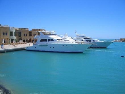 Yachthafen El Gouna - Hafen Abu Tig Marina