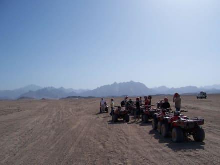 Eine traumhafte Quadtour in die Wüste - Quad Tour Hurghada