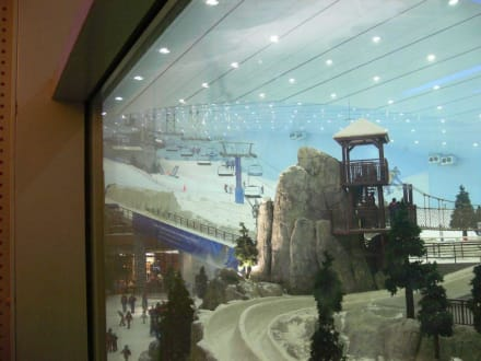 Skihalle - Ski-Dubai Halle (Mall of the Emirates)