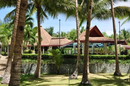 Bilck vom Stand  - Henann Resort