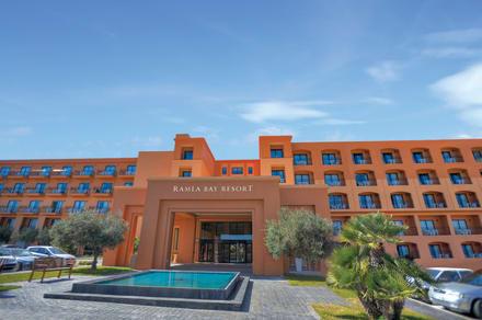 Ramla Bay Resort Facade -