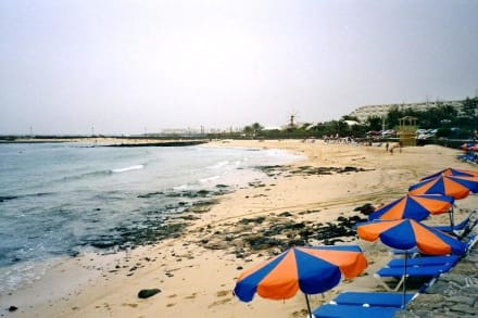 Costa Teguise - Playa de los Charcos - Strände Costa Teguise