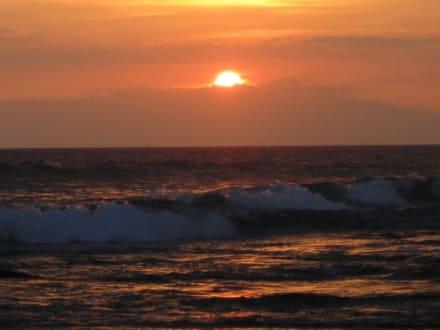 Herrlicher Sonnenuntergang - Pan Pacific Nirwana Bali Resort