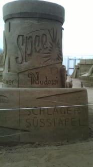 Ein wenig Ostalgie - Sandskulpturen Festival