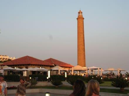 Leuchturm Faro in Maspalomas - Leuchtturm