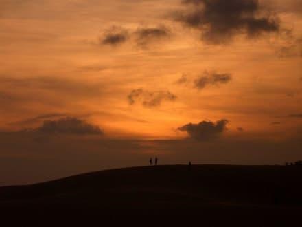 Sonnenuntergang - Sanddünen