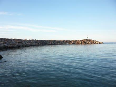 Sissi / Hafen und Badebucht - Fischereihafen Sissi