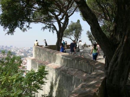 Aussichtspunkt - Castelo de Sao Jorge