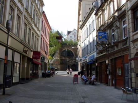 Strasse in Wiesbaden - Altstadt Wiesbaden