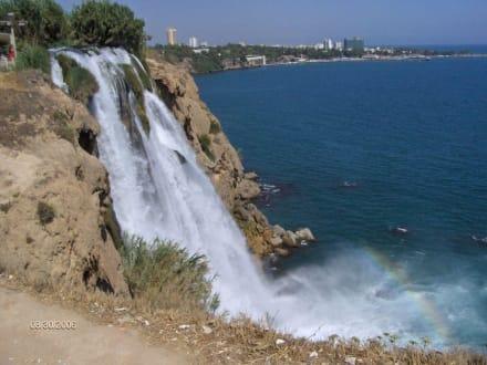 Die Wasserfälle von Antalya - Unterer Düden Wasserfall / Karpuzkaldiran Şelalesi